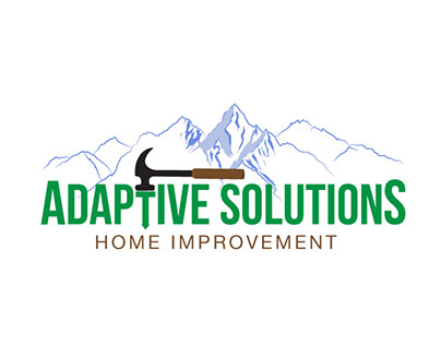 Adaptive Solutions logo & t-shirt design