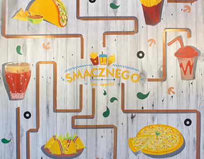 Bon Appetit   Wall Mural