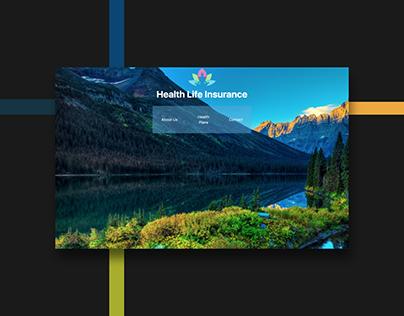 Health Insurance Landing Page