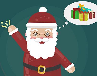 Santa's gifts.
