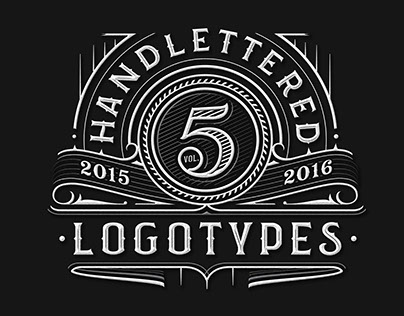 Handlettered Logotypes vol.5, 2015-2016