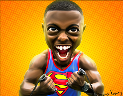 Digital Caricature with Photoshop.