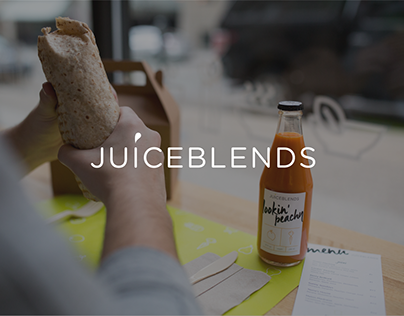 Juiceblends Rebrand