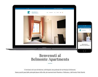 Belmonte Apartments | website, seo