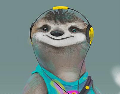 Sloths Character