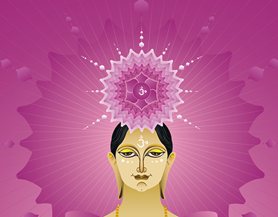 Chakra Therapy Book Illustration