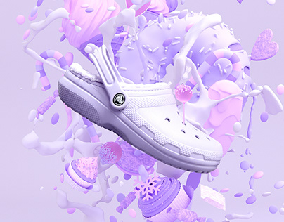 Crocs Campaign Illustrations