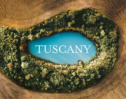 TUSCANY FROM ABOVE