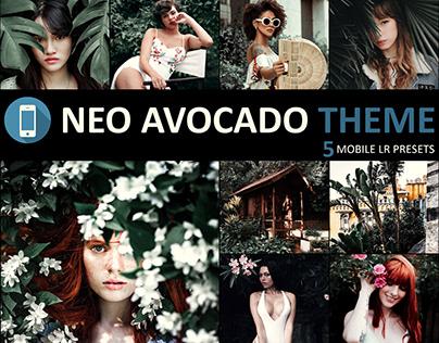 Neo Avocado Theme mobile lightroom presets