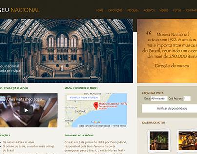 Site de Exemplo (Museu Nacional)