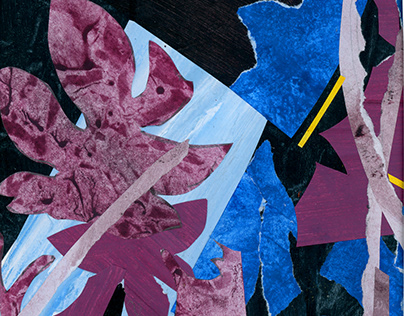Abstract Paper Collages