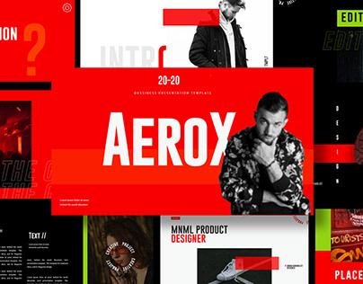 Aerox - PowerPoint Template