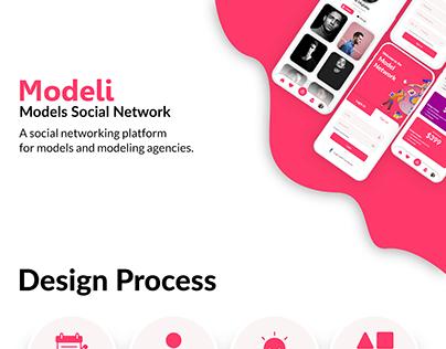 Modeli App UI/UX Design Process