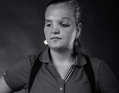 Lisanne's Leven, een meisje van 16, blind