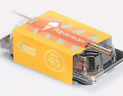 Papacream - Retail Store Brand design