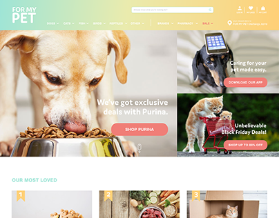 For My Pet Website