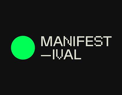 Manifestival 2021 Visual Identity