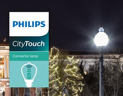Philips CityTouch brochure design