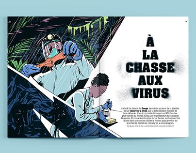 À la Chasse aux Virus | Society Magazine