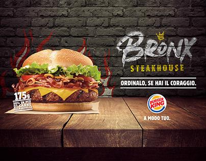 Burger King   Bronx Steakhouse