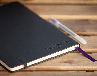 monday. entrepreneur's notebook.