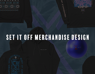Set It Off Merchandise design