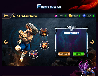Fighting UI