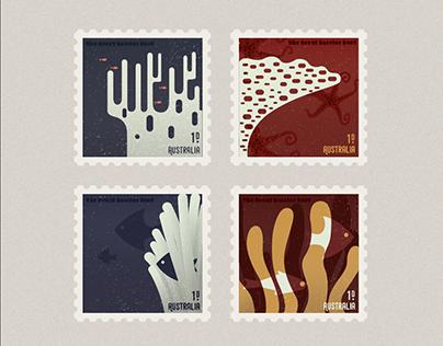 Stamp to commemorate Australia Culture