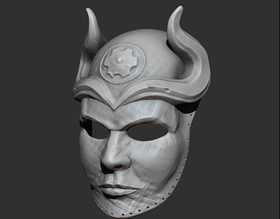 Sons of the Harpy Mask - Wearable - 3D Printing