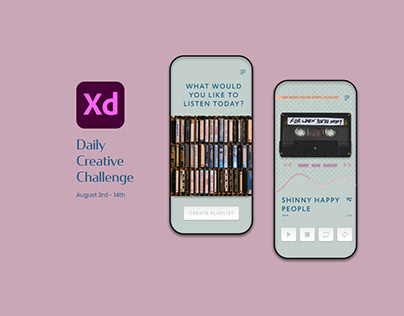 XD Daily Creative Challenge August 2020
