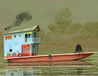 Lao Paintings
