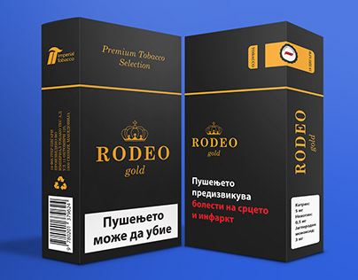 RODEO Gold - Tobacco Concept