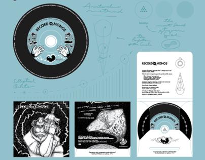 Record de Monos 🎸 CD Pack