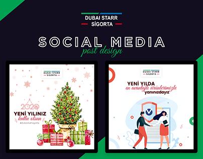Dubai Starr Sigorta - insurance social design