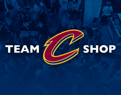 Cavaliers Team Shop Graphics