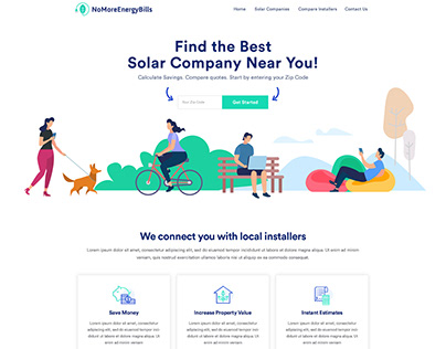 Website for Solar Company