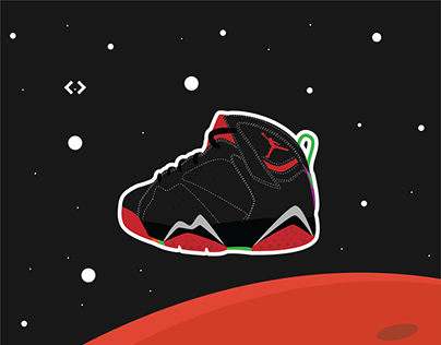 Cute Sneaker Illustration