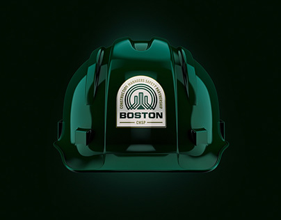 Boston Construction and Safety Logo Design, Branding
