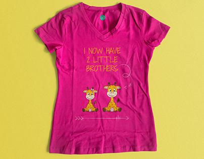 T-shirt Illustrations for children