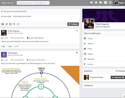 Projeto Rede Social