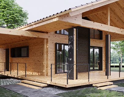 SOSNOVAYA WOODEN HOUSE
