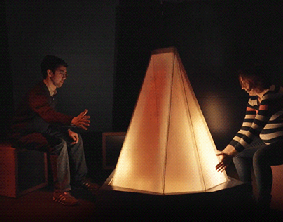 Anchorage Museum - Camp fire installation - gsmproject