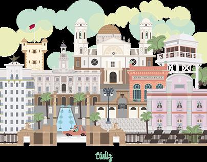 ilustración: Trazando Cádiz