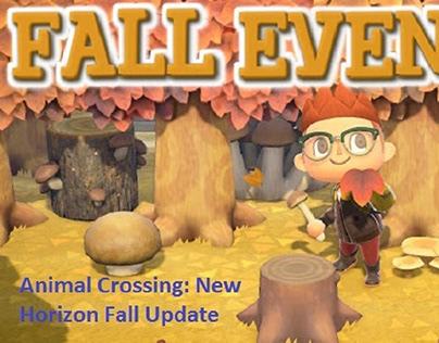 Animal Crossing: New Horizon Fall Update