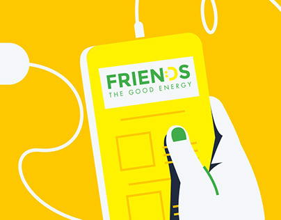 Friends Energy - Illustration & Motion Graphics