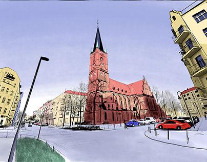 Berlin-Friedrichshain, Samaritan Church