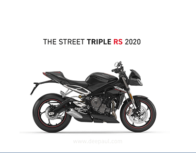 Triumph Street Triple RS 2020 - Ahead of its time !