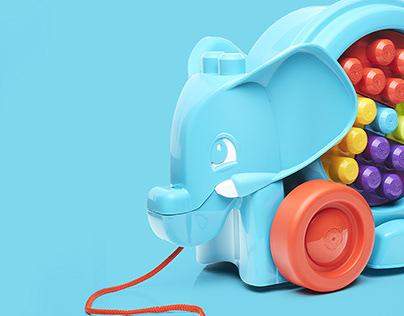 Elephant Parade For Mattel