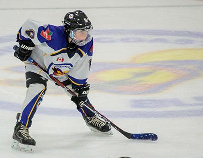 Unplug, play hockey!