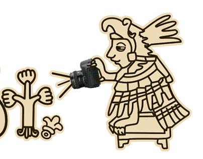 Prehispanic Illustrations for Canon T-shirts